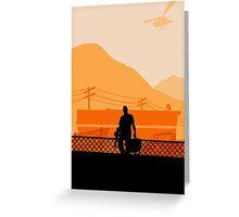 Grand Theft Auto: Trevor Greeting Card