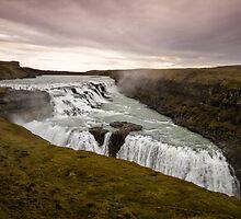 Gullfoss Waterfall by Marzena Grabczynska Lorenc