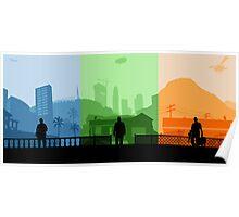 Grand Theft Auto: Trio Poster