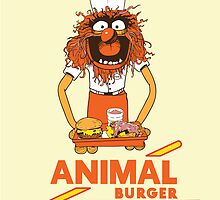 Animal Burger by starvingmartian