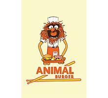 Animal Burger Photographic Print