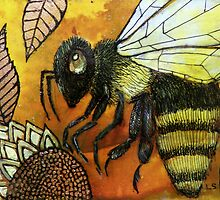 Flight of the Bumblebee III by Lynnette Shelley