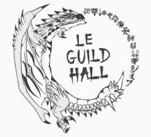 Monster Hunter Le Guild Hall-Silver Rathalos Colored by S4LeagueProps