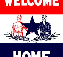 Vintage Military Welcome Home  by warishellstore
