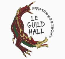 Monster Hunter Le Guild Hall-Agnaktor Version 2 Base Colors by S4LeagueProps