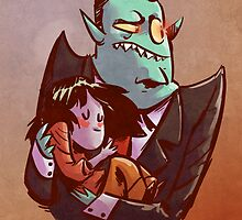 Daddy's Little Monster by ohthatsean