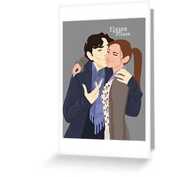 Sherlolly Greeting Card