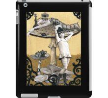 Alice and the Caterpillar iPad Case/Skin