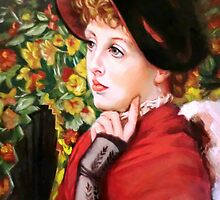 Type of Beauty after James Jacques Joseph Tissot by Hidemi Tada