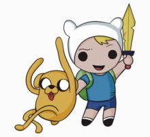 Finn and Jake by Shiaemi