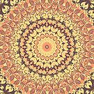 Autumn Leaves Mandala by Vicki Field
