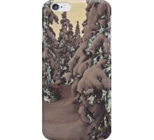 Snowy Woods IV iPhone Case/Skin