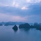View over Halong Bay by urbankarma
