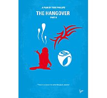 No145 My THE HANGOVER Part II minimal movie poster Photographic Print