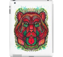 Psychedelic bear iPad Case/Skin