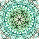 Evergreen Mandala  by Vicki Field