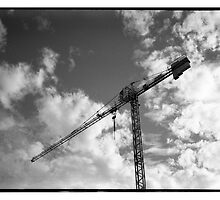 crane  by barrymansfield