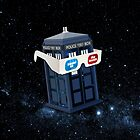 TARDIS on 3D by markusian