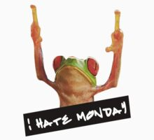 I hate monday  by sardinessquad