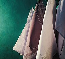 Handkerchiefs Drying by visualspectrum