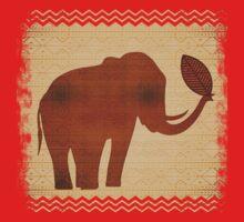 Elephant Tribal Art Design Kids Clothes