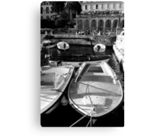 Motorboats About Canvas Print
