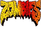 Flatbush Zombies Logo - Red/Yellow/Orange by Ben McCarthy