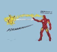 Ironman vs. Pikachu Kids Clothes