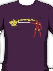 Ironman vs. Pikachu T-Shirt
