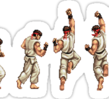Dragon Punch Sticker