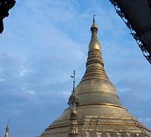 framed pagoda by Anne Scantlebury