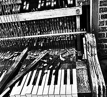 Broken Piano  by BetsyGraca