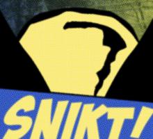 Wolverine Snikt! Sticker
