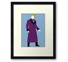 American Who - 4th Doctor - Gene Wilder Framed Print