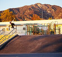 Alex Lawton - Hardflip by timblackphoto