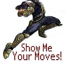Captain Falcon Nintendo Knee by dno123