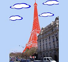 Eiffel Tower - Real to Imaginary by bryanzak