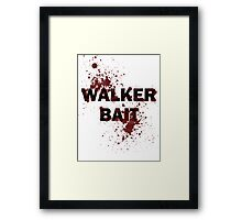 Walker Bait Framed Print