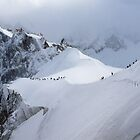 Snow ridge I by geophotographic