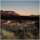 Sedona Sunset - Arizona USA by Edith Reynolds