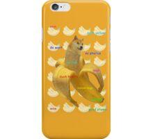 Banana Doge! iPhone Case/Skin