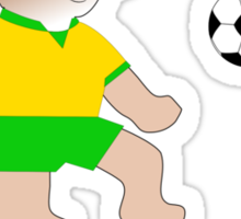 Go Goal Koala Sticker