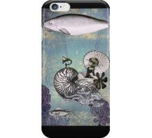 Emma the Nautilus-naut iPhone Case/Skin