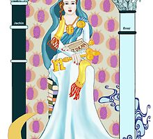 Tarot High Priestess by redqueenself