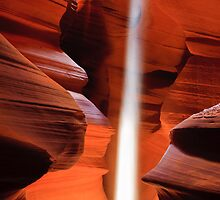 Upper Antelope Canyon by Henk Meijer