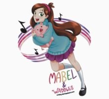 mabel and waddles by kiragf
