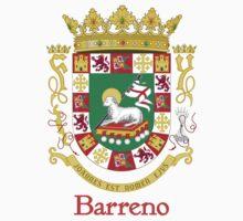 Barreno Shield of Puerto Rico by William Martin