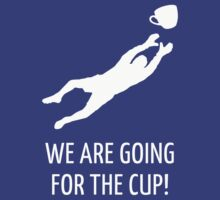 We are going for the cup! (Football / White) by MrFaulbaum
