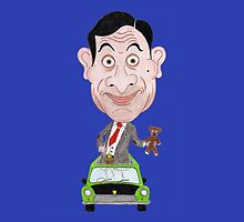 Funny Drawing Cartoon Caricature TV by MMPhotographyUK
