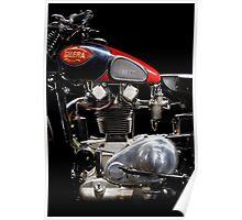 Gilera VTE Quattro Bulloni Motore 2 Poster